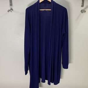 Men's Longline Open Cardigan